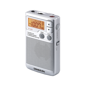 DT-250 디지털 휴대용 라디오 측면