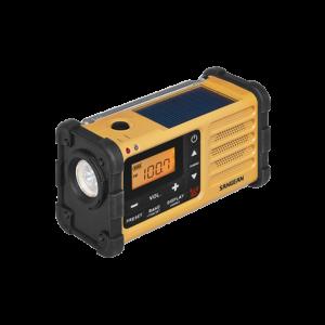 MMR-88 디지털 자가발전 라디오 측면