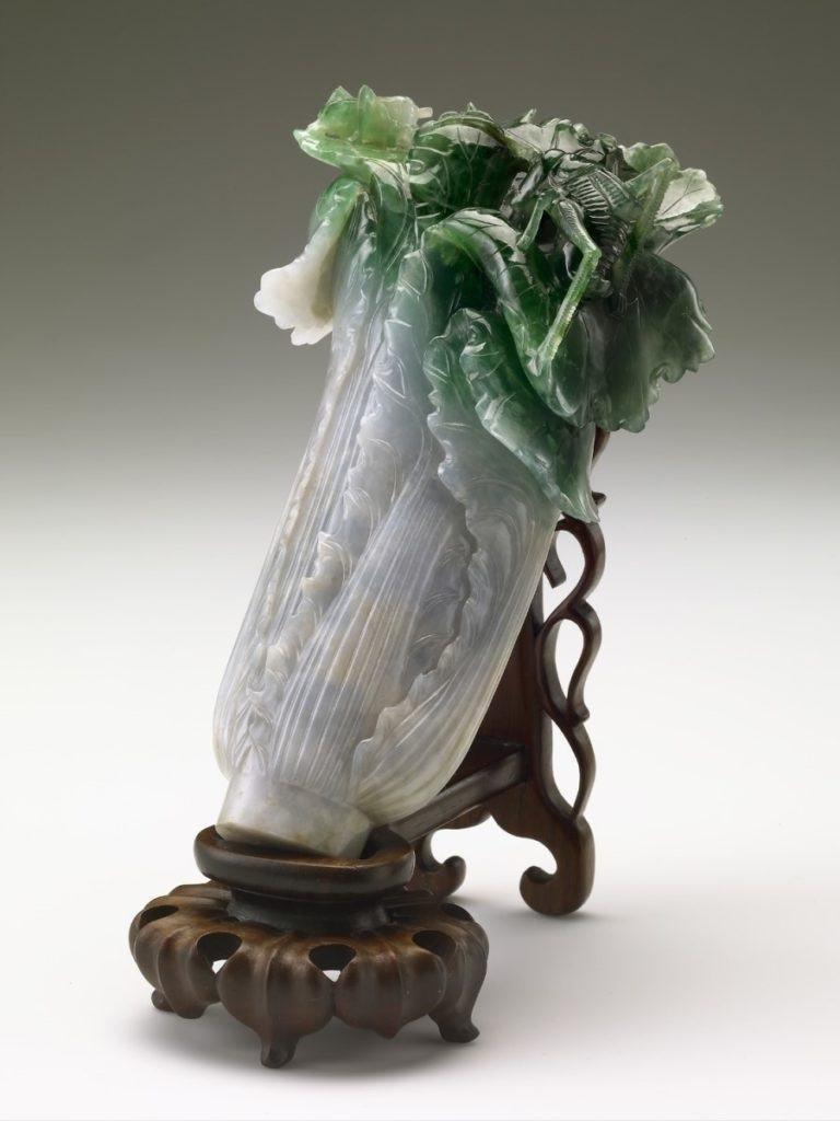 대만 국립박물관에 원래 전시되어 있어야 할 취옥백채(翠玉白菜)