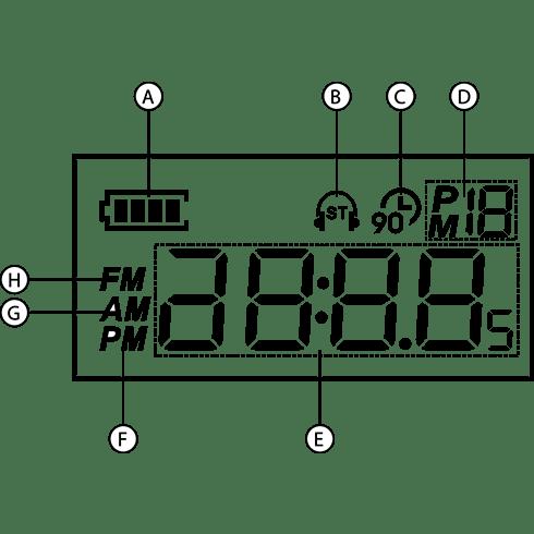 MMR-88 자가발전 디지털라디오 전면 LCD