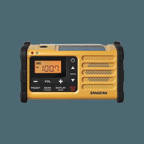 MMR-88 디지털 자가발전 라디오 정면