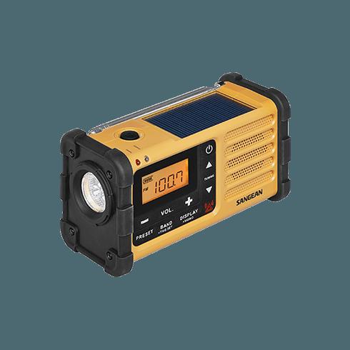 MMR-88 디지털 자가발전 라디오 랜턴과 태양광 충전 패널