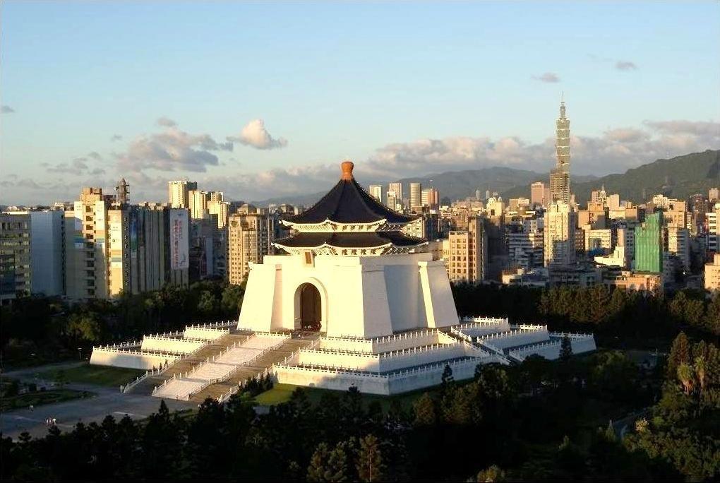 일본의 항복 문서가 있었던 장개석 기념관