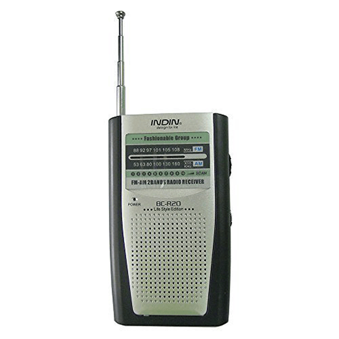Indin BC-R20 휴대용 라디오
