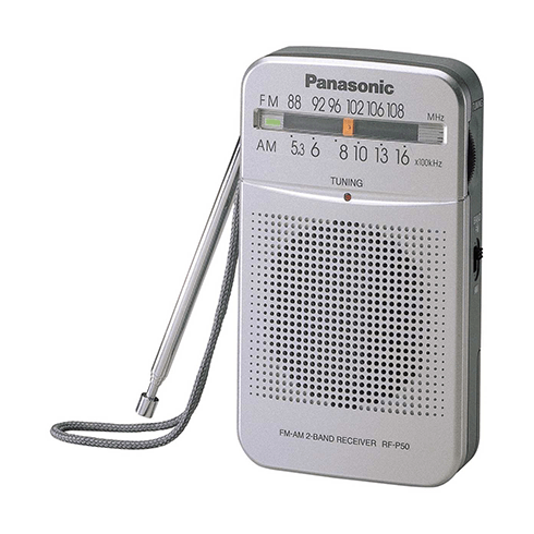 Panasonic RF-P50 휴대용 라디오