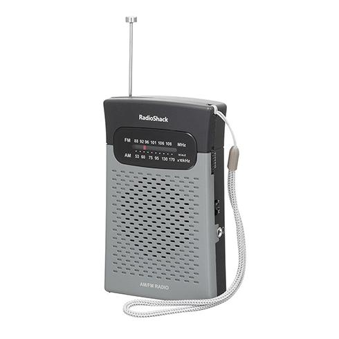 Radio Shack 1200586 휴대용 라디오