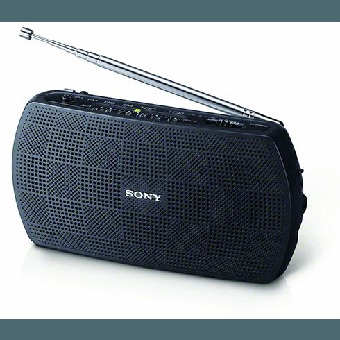 Sony SRF-18 휴대용 라디오 소니 한국 지사에서 내놓은 유일한 휴대용 라디오이다.