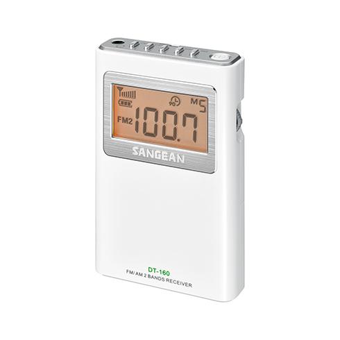 DT-160 휴대용 디지털 라디오 측면