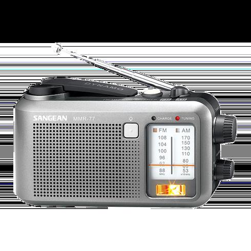 MMR-77 아날로그 자가발전 라디오 안테나