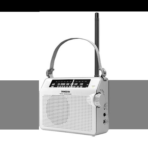 PR-D6 휴대용 라디오 측면