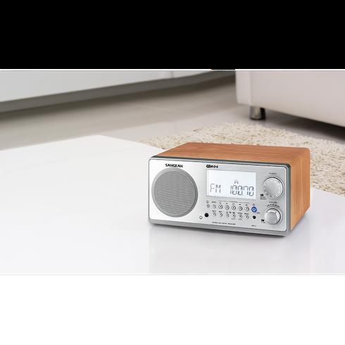 탁자위의 WR-2 디지털 탁상용 라디오