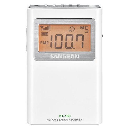 Sangean-DT-160-Pocket-Radio-Front