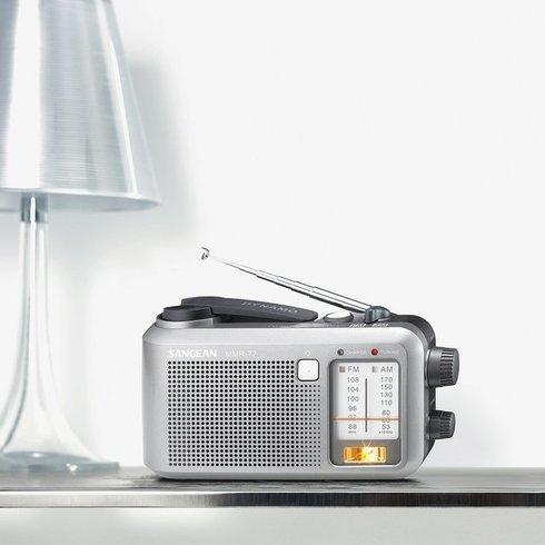 Sangean-MMR-77-Emergency-Radio-Table