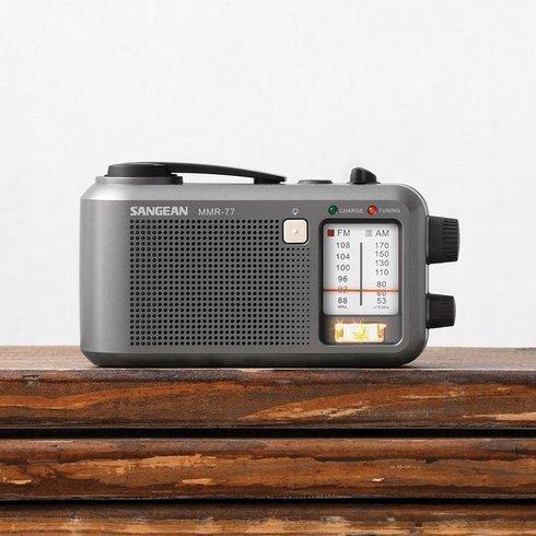 Sangean-MMR-77-Emergency-Radio-Wood