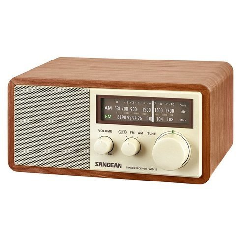 Sangean-WR-11-TableTop-Radio-Side