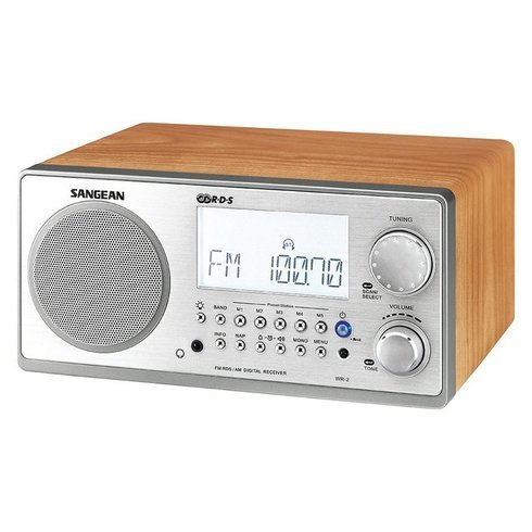 Sangean-WR-2-TableTop-Radio-Side